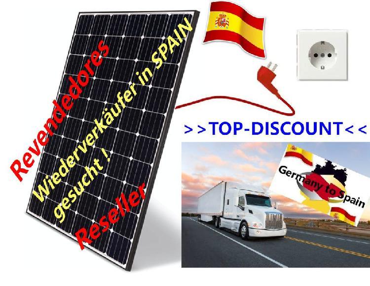 Empresarios revendedores autónomos fotovoltaicas