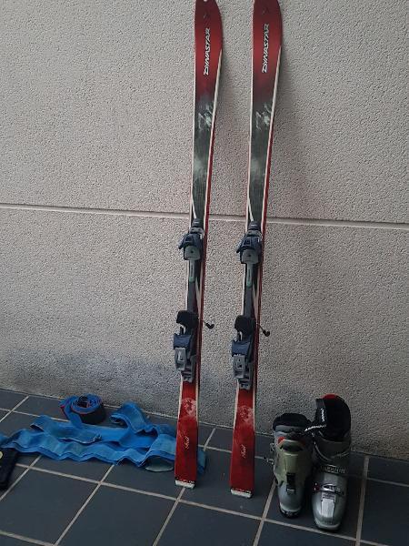 Esquís travesía