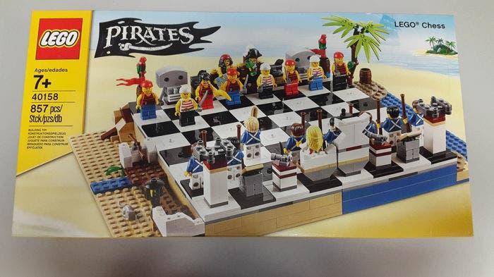 Lego 40158 piratas ajedrez