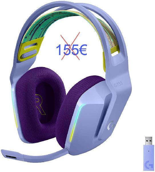 Logitech g733 auriculares micro inalámbricos nuevo
