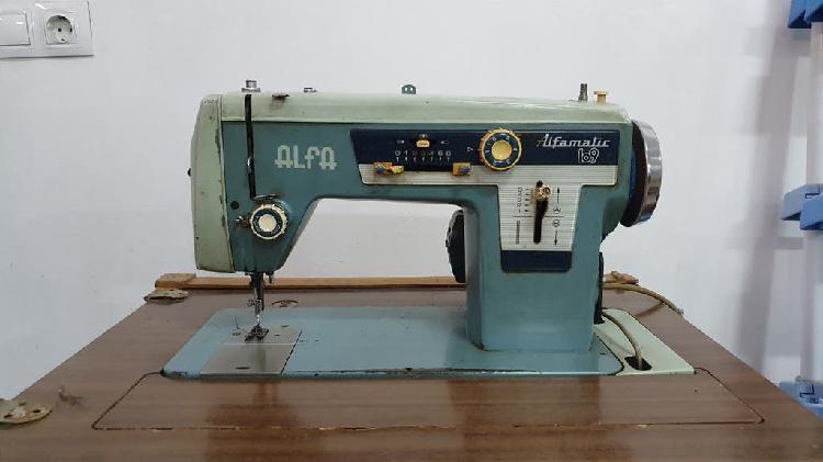 Maquina de coser eléctrica alfa