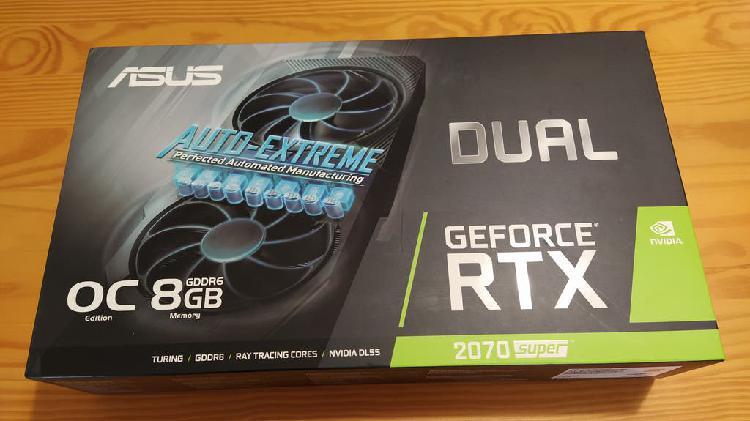 Nvidia geforce rtx 2070 super (nueva)
