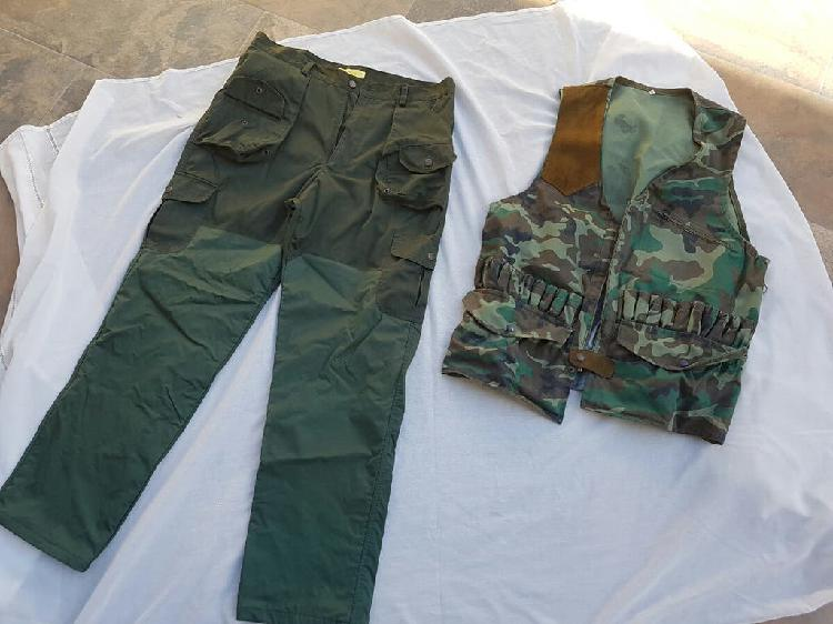 Pantalón y cazadora de cacería