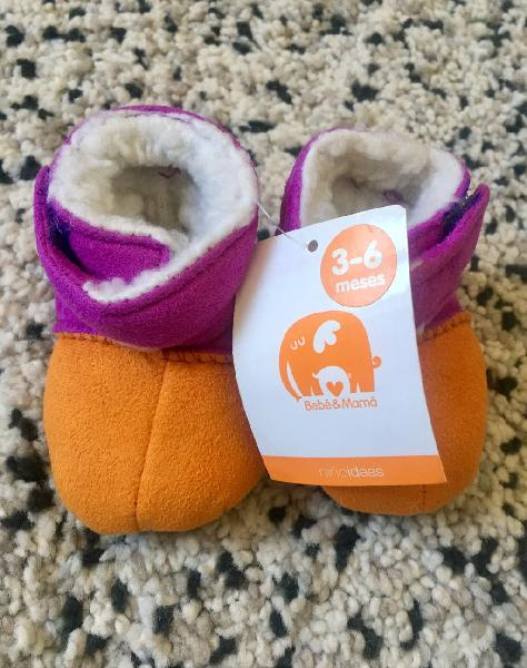 Zapatitos de bebé 3-6 meses