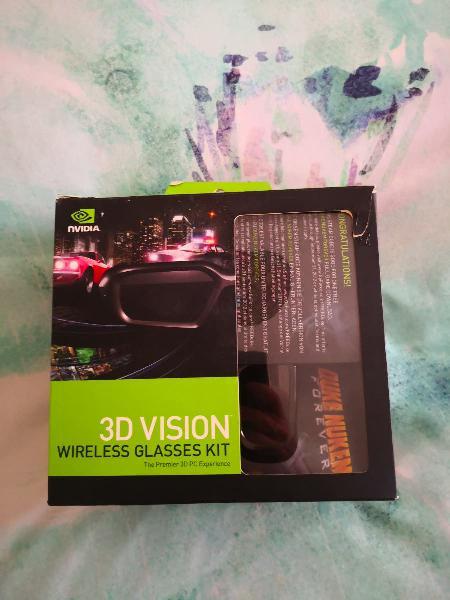 Gafas nvidia juegos 3d