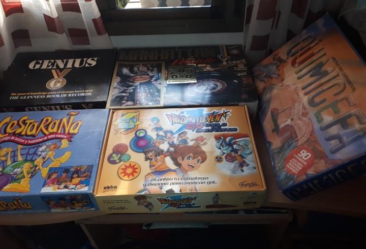 50-lote de juegos