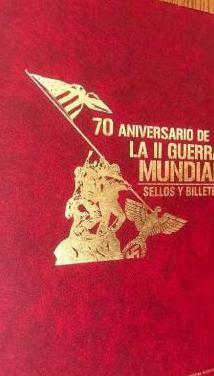 70 aniversario de la ii guerra mundial. album sin