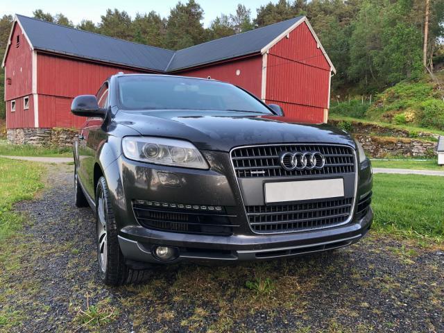 Audi q7 quattro tiptronic 7 plazas