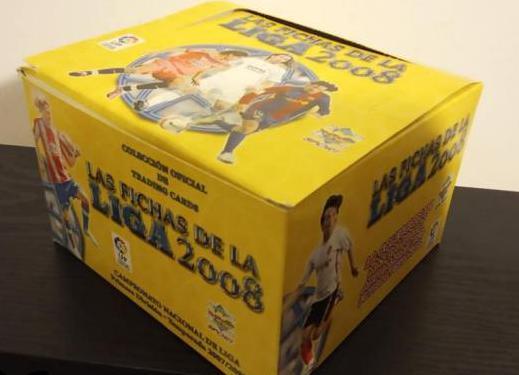 Cajas mundicromo 2008 . todo nuevo . 50 sobres .