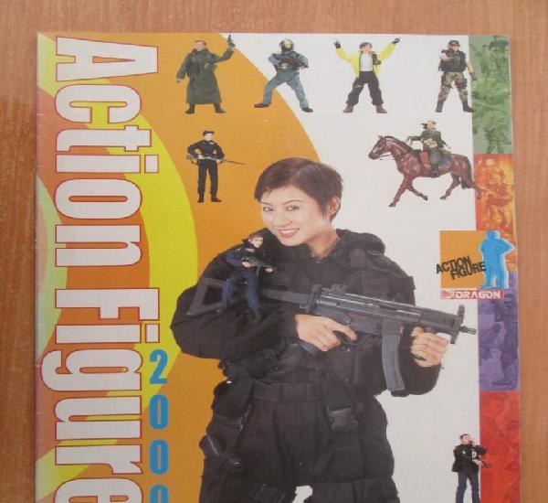 Catalogo dragon action figures escala 1/6 año 2000.