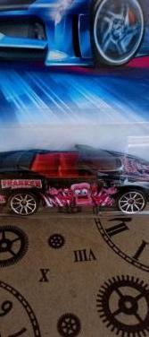 Camaro 1995 franken berry hot wheels 2003