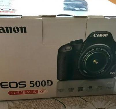 Canon eos 500d y kit accesorios
