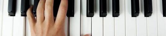 Clase de piano / lenguaje musical