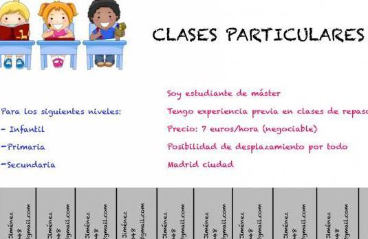 Clases particulares:infantil,primaria,secundaria