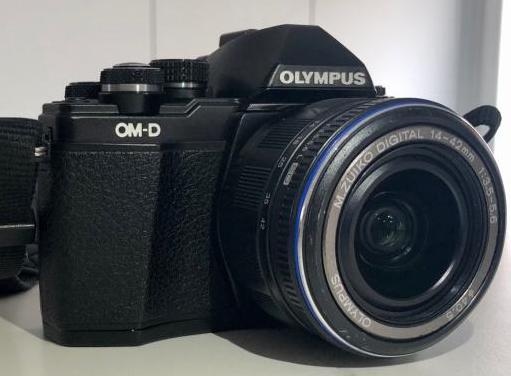 Cámara olympus om-d e-m10 ii objetivos
