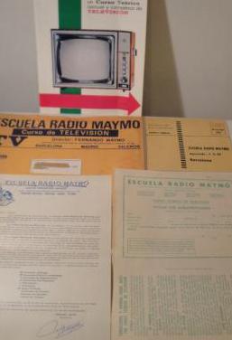 Curso Teórico T.V.-Radio Maymo. 1970