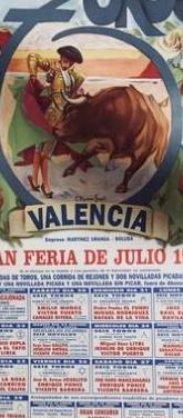 Feria de julio de valencia 1996.