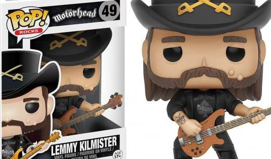 Figura lemmy motörhead funko pop