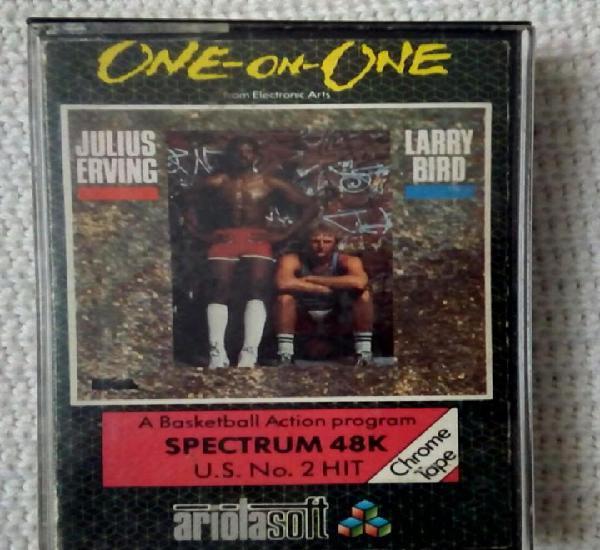 Juego para spectrum 48k, one-on-one raro