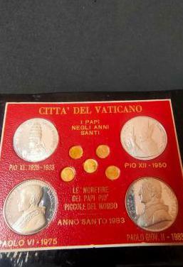 Monedas vaticano año santo 1983