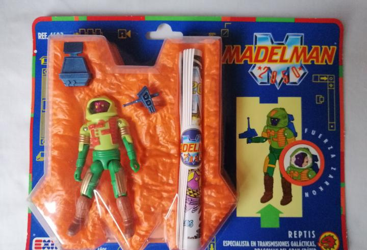 Madelman 2050 reptis
