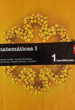 Matemáticas i. 1 bachillerato. sm