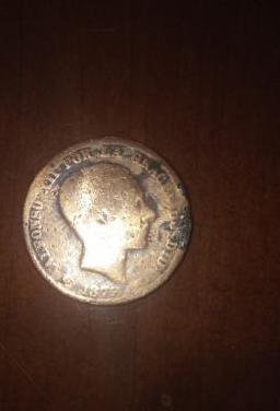 Moneda de alfonso xii de 1878, en cobre