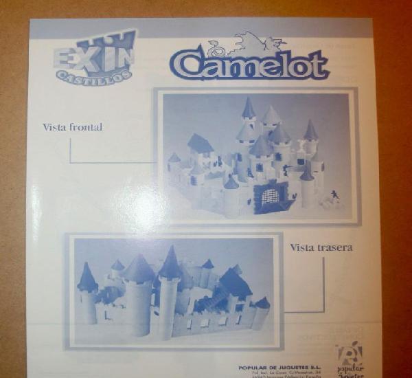 Oferta: instrucciones castillo: camelot. popular de juguete,