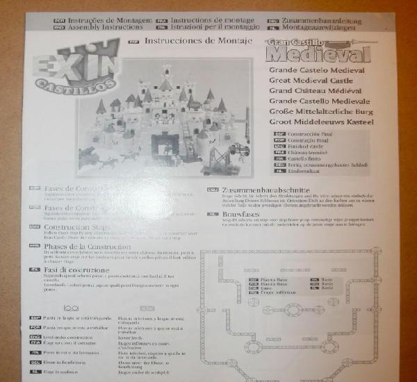 Oferta: instrucciones castillo: gran castillo medieval.