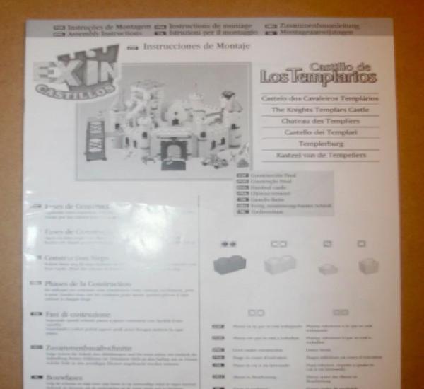 Oferta: instrucciones castillo: los templarios. popular de