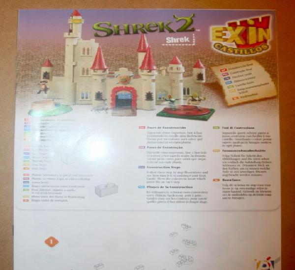 Oferta: instrucciones castillo: shrek 2. popular de juguete,