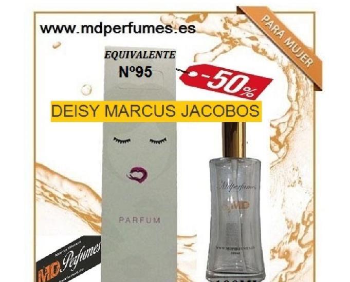 Oferta perfume mujer nº95 deisy marcus jacobos alta gama