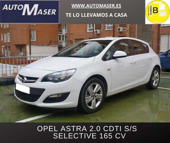 Opel astra 2.0cdti s/s selective 165