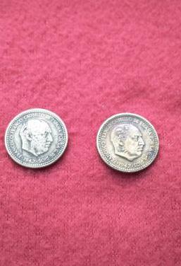Pesetas franco año 1947