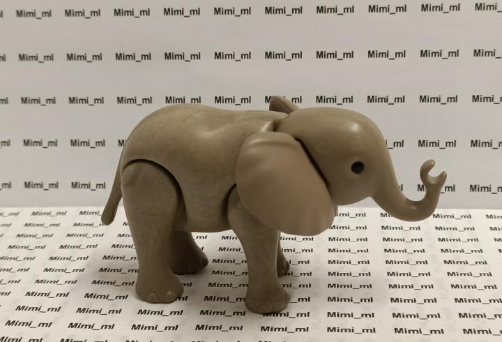 Playmobil elefante cria circo zoo safari