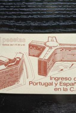Sellos ingreso españa portugal cee