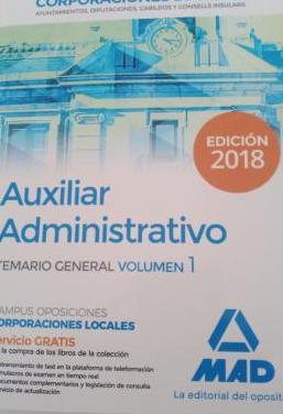 Temario oposiciones auxiliar administrativo