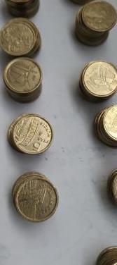 Colección monedas y billetes lote completo