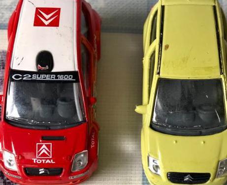 Lote de 2 coches miniatura norev