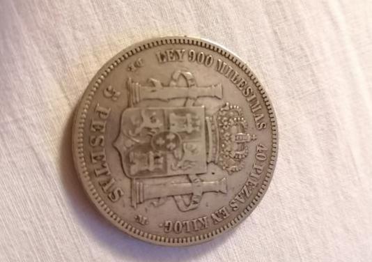 Moneda rey alfonso xii
