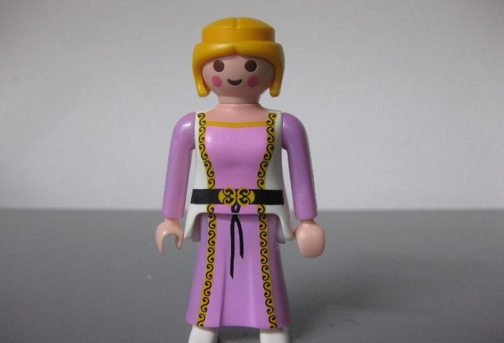 Playmobil figura chica princesa medieval