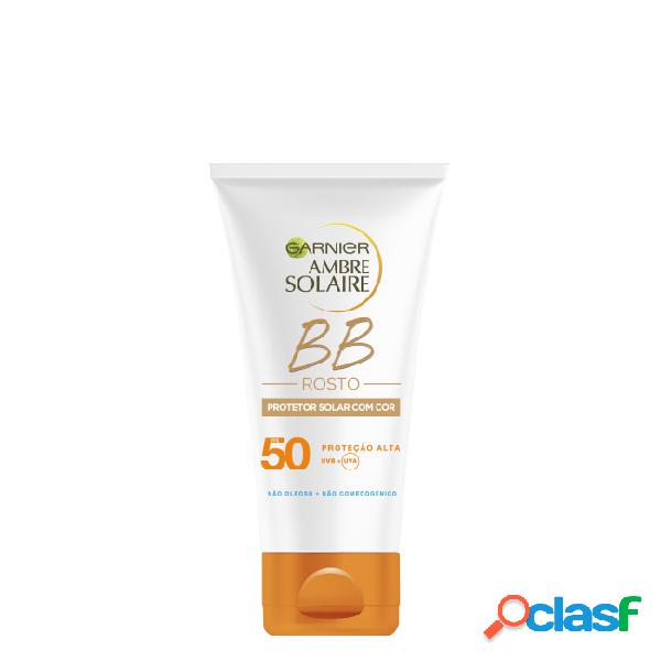 Ambre solaire bb cream spf50 tinted sun protection face cream 50ml