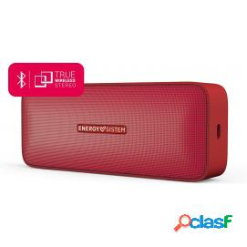 Energy sistem music box 2 altavoz bluetooth 6w rojo