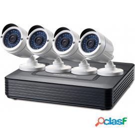Level one dsk-8001 kit de vigilancia 720p cctv de 8 canales