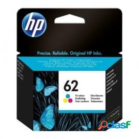 Hp 62 cartucho tinta original tricolor