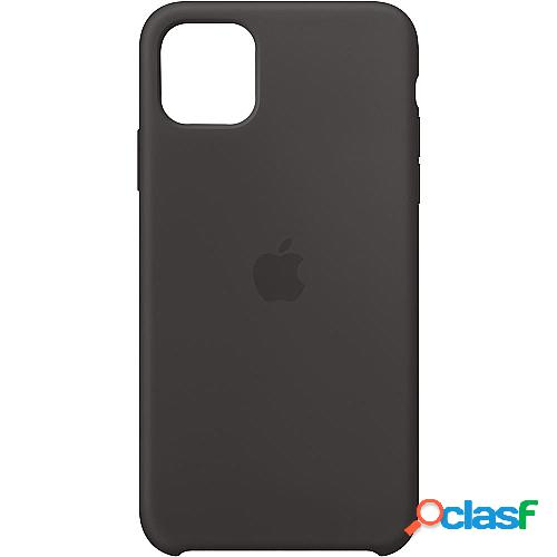 Funda apple iphone 11 pro max silicone case - negra - mx002zm/a