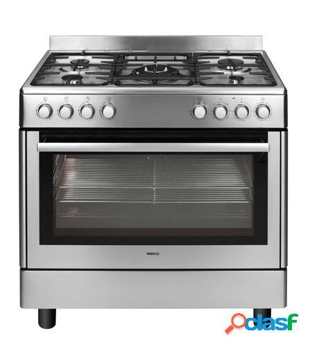 Beko gm15121dx cocina cocina independiente acero inoxidable encimera de gas b