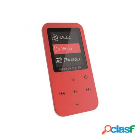Reproductor portatil mp4 energy touch bluetooth 8gb coral