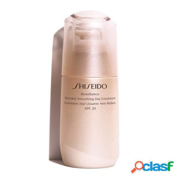 Shiseido cosmética facial benefiance wrinkle smoothing day emulsion