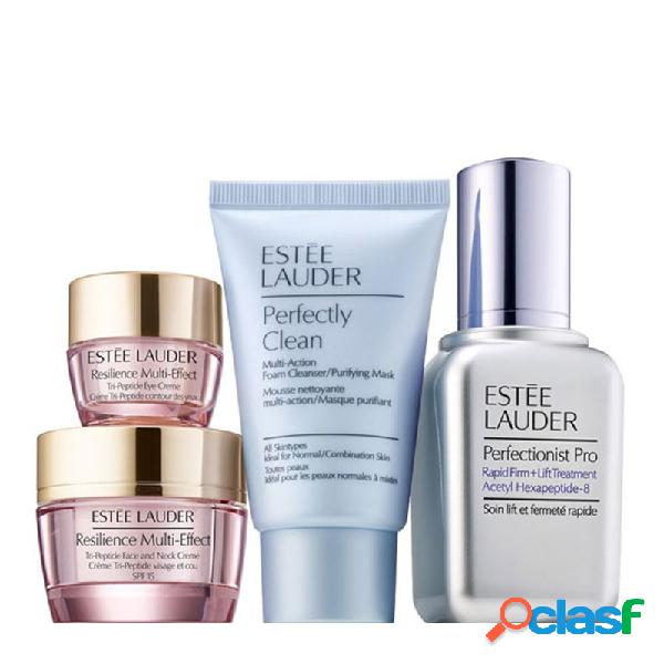 Estee lauder sueros restauradores perfectionist pro rapid treat set